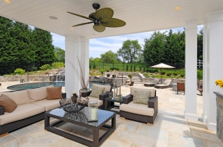 22 beautiful outdoor living rooms & outdoor room ideas