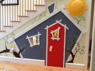 14 kid's under the stair playhouse ideas