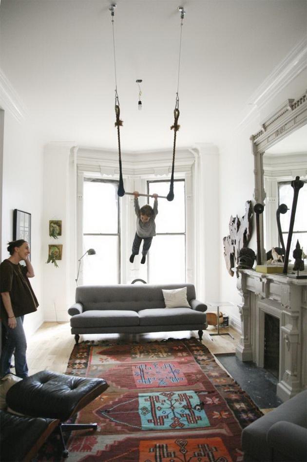 25 Great Indoor Swing Design Ideas