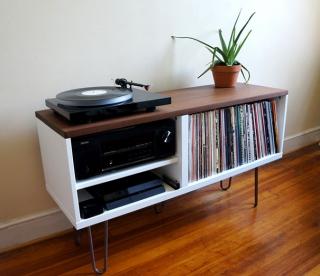 Cool vinyl record storage ideas