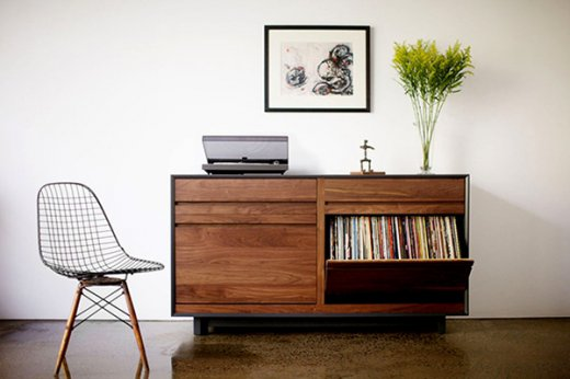 Cool vinyl record storage ideas