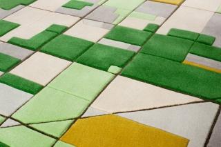 Landcarpet – Satellite photography turned into carpet
